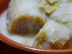 Greek Cabbage Rolls with Avgolemono Sauce - Greece