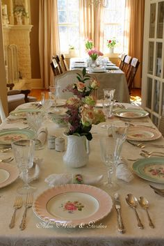 Aiken House & Gardens: A Year of Tablescapes