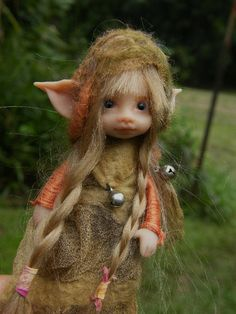 Love the items in this shop! This is a sweet posable pixie fairy fairie ooak by throughthemagicdoor, $155.00