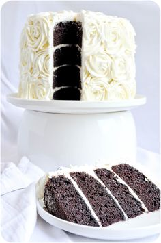 Lemon Sugar: Stout Cake with Irish Cream Frosting.  Very similar to my Guinness cake, which is amazing, but with subtle twists I'd like to try.  And I love the frosting detail!