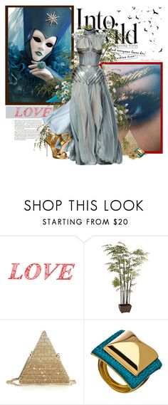 """Love"" by railda-pereira ❤ liked on Polyvore featuring WALL, Pat McGrath, Pier 1 Imports, Anja, Judith Leiber, Ted Rossi and Giuseppe Zanotti"