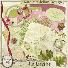 Jardin - May Designer Collab by Kate McClellan Design