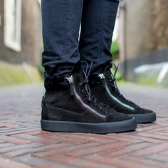 GIUSEPPE ZANOTTI | NEW ARRIVALS | DERODELOPER.COM  The Giuseppe Zanotti may london shearling high-top sneakers from the fall / winter 2016 collection.  Available Online & In Stores  FOR MORE SHOP ONLINE: WWW.DERODELOPER.COM/GIUSEPPE-ZANOTTI
