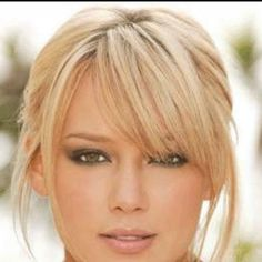 Love these bangs!