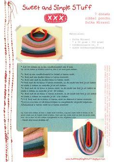 sweet and simple stuff XXX: gratis patroon col van Sulka een superzacht fairtrade garen van Mirasol/ Free pattern Cowl of supersoft fairtrade yarns of the Mirasol project