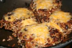 Southwest Brown Rice and Black Bean Burgers--these are seriously awesome!