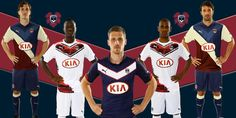 New Girondins Bordeaux 14-15 Home, Away and Third Kits - Footy Headlines