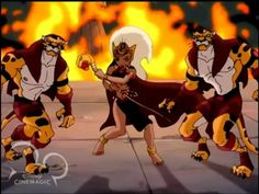 Queen La and her Leopard Men of Opar......Tarzan series