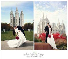 Salt Lake Temple Wedding Photography. LDS Wedding. Temple Wedding. Clarissa Stagg Photography, Utah Wedding & Family Photographer