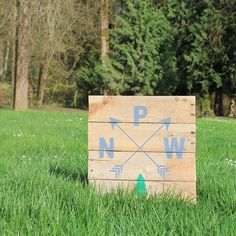 PNW rustic wood sign, hand painted PNW wood sign, Pacific North West home decor, rustic home decor, Oregon home decor, Washington home decor by CKwoodCo on Etsy https://www.etsy.com/listing/526675721/pnw-rustic-wood-sign-hand-painted-pnw