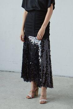 Rachel Comey Glare Skirt Flowy Skirt, Lace Skirt, Sequin Skirt, Color Lines, Rachel Comey, Sequins, Mood, Skirts, Vegas
