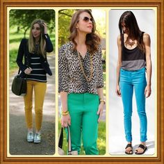 Vivid Coloured Pants by Jen's Fashion Book, via Flickr
