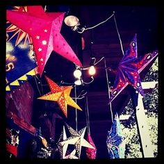 Christians hang these at Christmas in India.