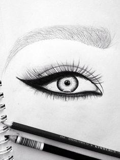 28 Best Eye Pencil Sketch Images