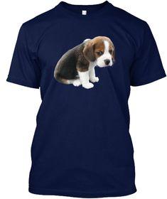 Animal T Shirt   Pet T Shirt  Navy T-Shirt Front
