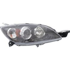 2004-2009 Mazda 3 Head Light RH, Lens And Housing, Hid, With Out Hid Kit
