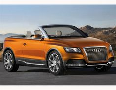 AUDI  Cross Cabriolet Quattro     OOOO maybe another color but I like