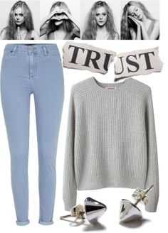 """""""trust me"""" by ulrikebliss ❤ liked on Polyvore"""