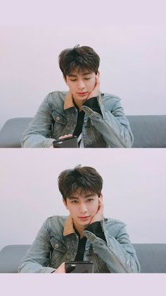 Aishh he is staring right in my soul ~ Kim Jinhwan, Chanwoo Ikon, Justin Timberlake, Yg Entertainment, K Pop, Bobby, Dramas, Ikon Songs, Ikon Member