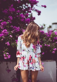 ...have about 4 floral rompers...need to wear them before the summer is officially over,and hopefully can bring them into fall a little by pairing tgem with light,matching cardis,or-my personal fave-my favorite fitted disressed denim jacket,and ankle boots...§