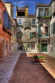 A picturesque alley in Venice, Italy