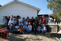Our dedicated volunteers in front of the newly built house. Join us! #nonprofit #charity #corazon