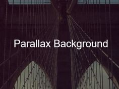Yet another parallax scrolling jQuery plugin used to apply smooth parallax effects on any background images, with support for all directions and configurable animation speed. Background Images, Smooth, How To Apply, Animation, Picture Backdrops, Wallpaper Backgrounds, Background Pictures, Animation Movies, Motion Design