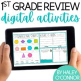 Do you need a quick and effective way for your students to review the skills they have worked on during first grade? Years ago, I created a quick paper review for students to work on during the last few weeks of first grade or the first few weeks of second grade. You can get that here.