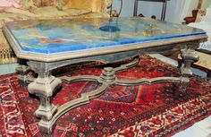 Catawiki online auction house: Marble coffee table - Italy, 20th century