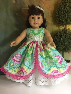 A personal favorite from my Etsy shop https://www.etsy.com/listing/510276883/american-girl-gorgeous-southern-belle