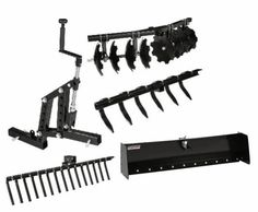 Garden Tractor Attachments, Atv Attachments, Farm Tools, Garden Tools, Yamaha Viking, Atv Trailers, Small Tractors, Tractor Implements, Atv Accessories