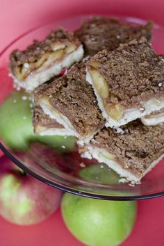 Apple Cinnamon Crumb Bars *made this for bible study and everyone loved it! used apple butter instead of fruit jam.*