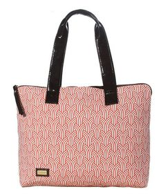 Take a look at this Papaya Simple Tote by Ame & Lulu on #zulily today!