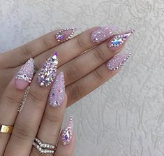 Image result for RHINESTONE NAIL DESIGNS