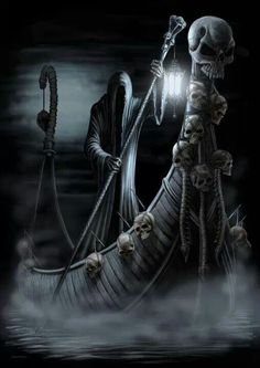 Grim Reaper tattoo idea
