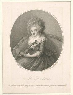 Louise Gautherot, musician born ca. 1763