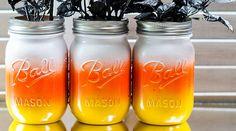 10 Halloween Mason Jar Craft Ideas with DIY Tutorials | via putitinajar.com