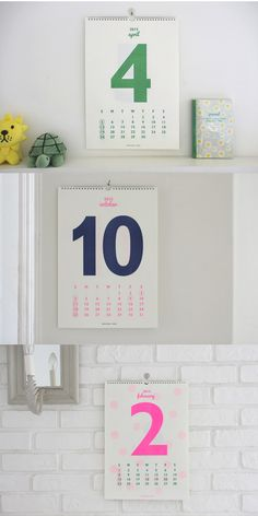Un calendrier pour 2015 / Month on the wall 2015 by Afrocat