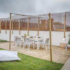 """99 Gostos, 1 Comentários - QUERIDO (@queridomudeiacasa) no Instagram: """"by Tânia Martins ☺ #homestyling #outdoor #decor #decoration #design #garden #diningsets #eatout…"""""""