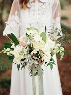 An Elegant Woodland Wedding Inspiration Shoot from Noi Tran Photography