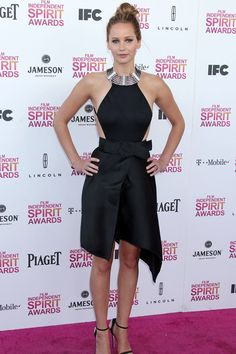 Jennifer Lawrence in Lanvin dress