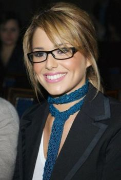 Love her cute glasses Cheryl Cole. Love her cute glasses Cheryl Cole, Cute Glasses, New Glasses, Girls With Glasses, Glasses Frames, Fashion Eye Glasses, Wearing Glasses, Womens Glasses, Cool Hairstyles