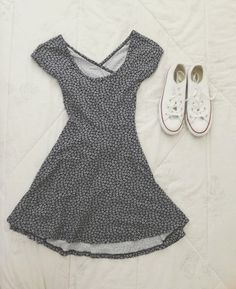 Sundress and converse