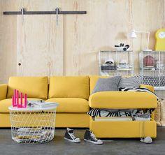 Az IKEA VIMLE a pihenésről és a tárolásról is gondoskodik.