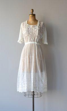 Avalon-Kleid Baumwollkleid 20er Jahre Jahrgang der von DearGolden