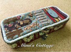 Mimi's Cottage: Estuche Appliquick Berta