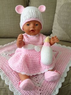 free crochet patterns for bitty baby doll clothes 200 best images about bitty baby baby born and twins doll