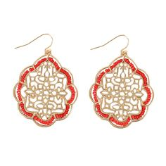 Shyanne, RN288CO, Red/Gold