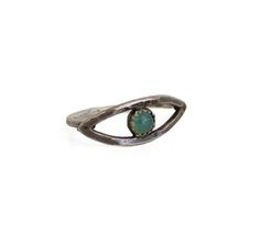 Holly Bobisuthi - Chrysoprase Eye Ring