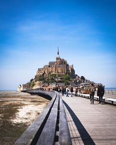 Leaving that magical fortress  #mointsaintmichel #fortress #roadto #bluesky #hello_france #france #igers #igerfrance #igersoftheday #igersdaily #daily #dailypost #iglife #explorer #explore #neverstopexploring #lookaround #serialtraveler #exklusive_shot #beautifuldestinations #visualoftheday #ig_france #kings_villages #agameoftones #topfrancephoto #ig_masterpiece #visitfrance #picoftheday